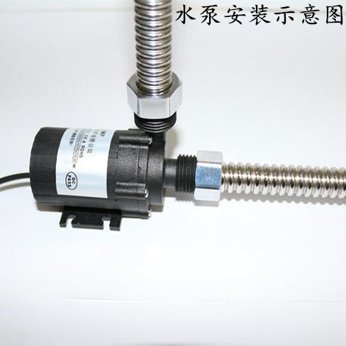 12v DC sin escobillas de silenciar una pequeña bomba de gas baño solar calentador de agua eléctrico de la bomba de presión de la bomba de calor.
