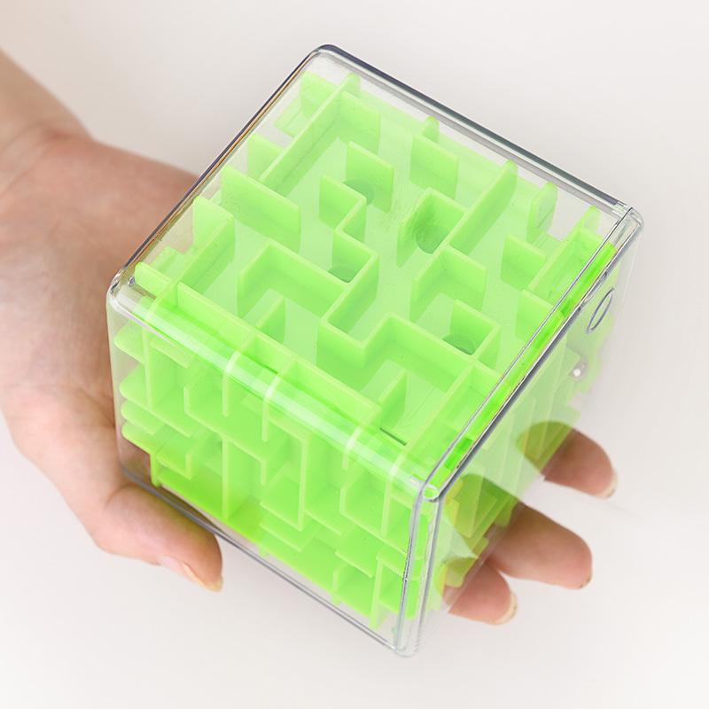 Ницца рано интеллект детей игрушки взрослых урок туба прозрачный куб 3D лабиринт магический шар