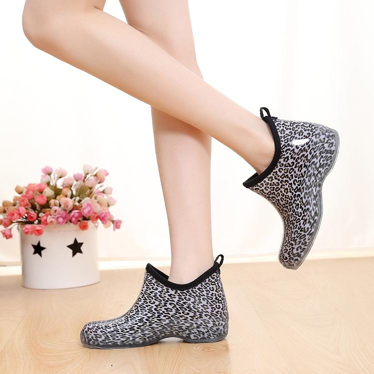 韓版果凍時尚雨鞋女士低幫短筒水靴單鞋水鞋膠鞋防滑防水雨靴套鞋