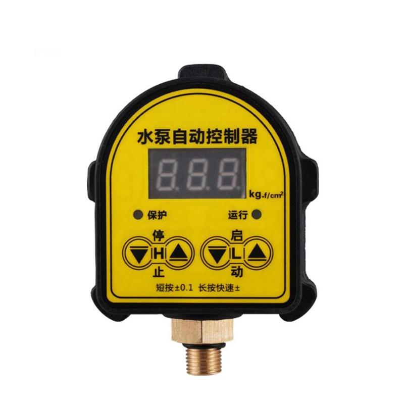 Control automático de presión de la bomba de agua inteligente cambiar el reglamento de protección de la electrónica digital, interruptor de presión