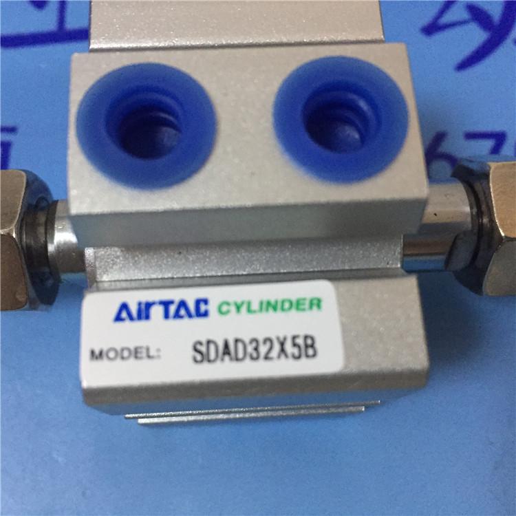pneumatikus alkatrészei Airtac 亚德客 futólépés SDAD32*5-B 薄型 henger tengelye