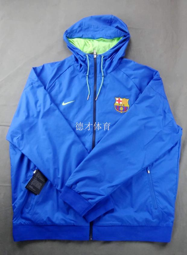 The ability of sports Nike dbvfbwdizz Barcelona football windproof jacket 810302-480