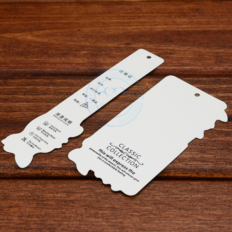 Clothing store clothes made of LOGO custom dress tag card small label customized high-end universal logo design