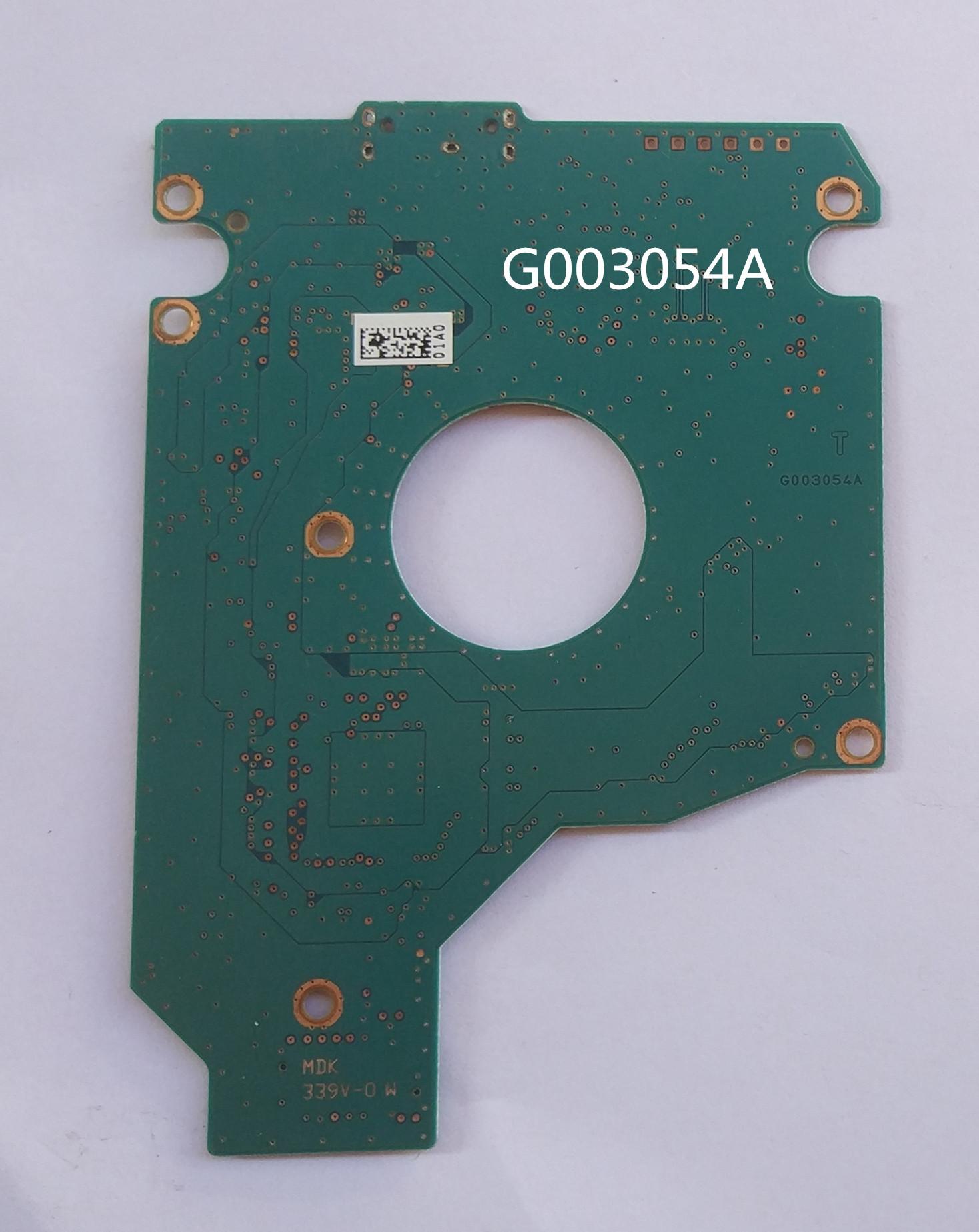 Toshiba - kennzeichen G003054A mobile festplatte geändert, serielle PCB - 500G1T usb3.0