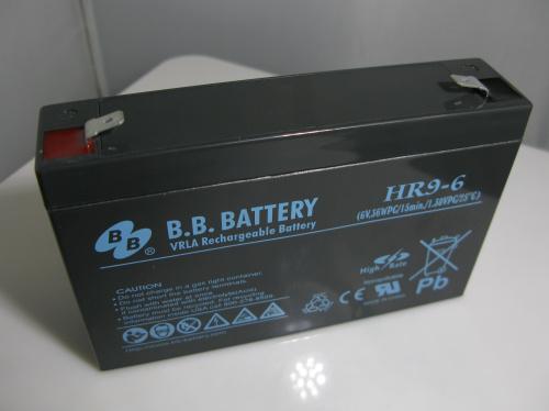 台灣BB牌HR9-6児童の電気自動車のバッテリー6v9ah代6v7ahベビーカー蓄電池UPS電池
