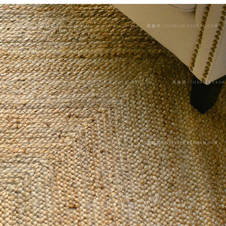 a foglalás.a aguilar india amerikai country nem len kézi szövésű szőnyeg nappaliban madárijesztő juta szizál