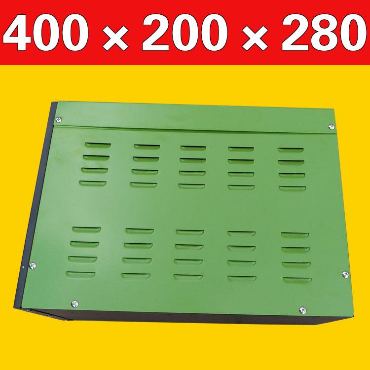 τα μαστορέματα κατακόρυφη και περιεχόµενο της συσκευασίας κουτί υπόθεση μετασχηματιστή υπόθεση μεταλλικά απόρθητο 400*200*280 κέλυφος μεταλλικό περίβλημα
