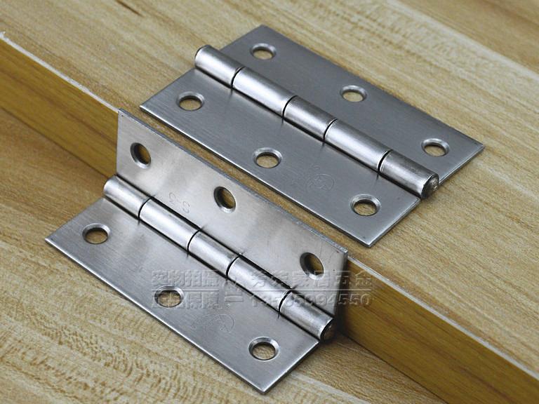 Ааа, бренд Аутентичные 3 дюйма 304 нержавеющая сталь петли Обычные квартиры открыл двери петли мебель петли промышленных петли