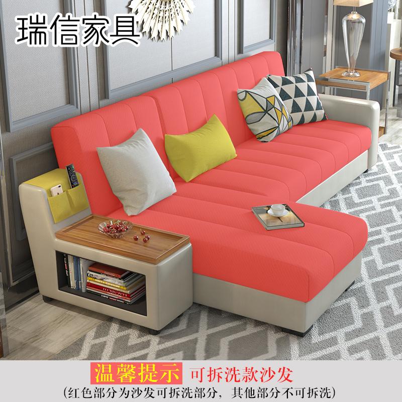 瑞信家具ソファーベッド折りたたみリビングペアの小型多機能ソファベッド収納両用2190
