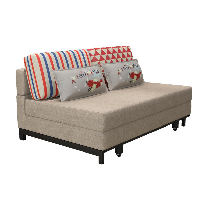 Πολυλειτουργικά πτυσσόμενο καναπέ - κρεβάτι 1,8 m 1,5 m και το μικρό μέγεθος του πτυσσόμενου σαλόνι διπλό χώρο 1.2 επαρχία