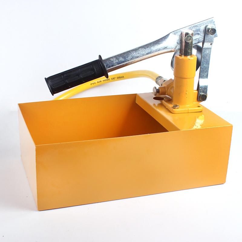 Ensayo de la presión de la bomba manual de compresor de aire de tuberías de presión, detector de fugas de presión para la bomba de 25 - 40 kg