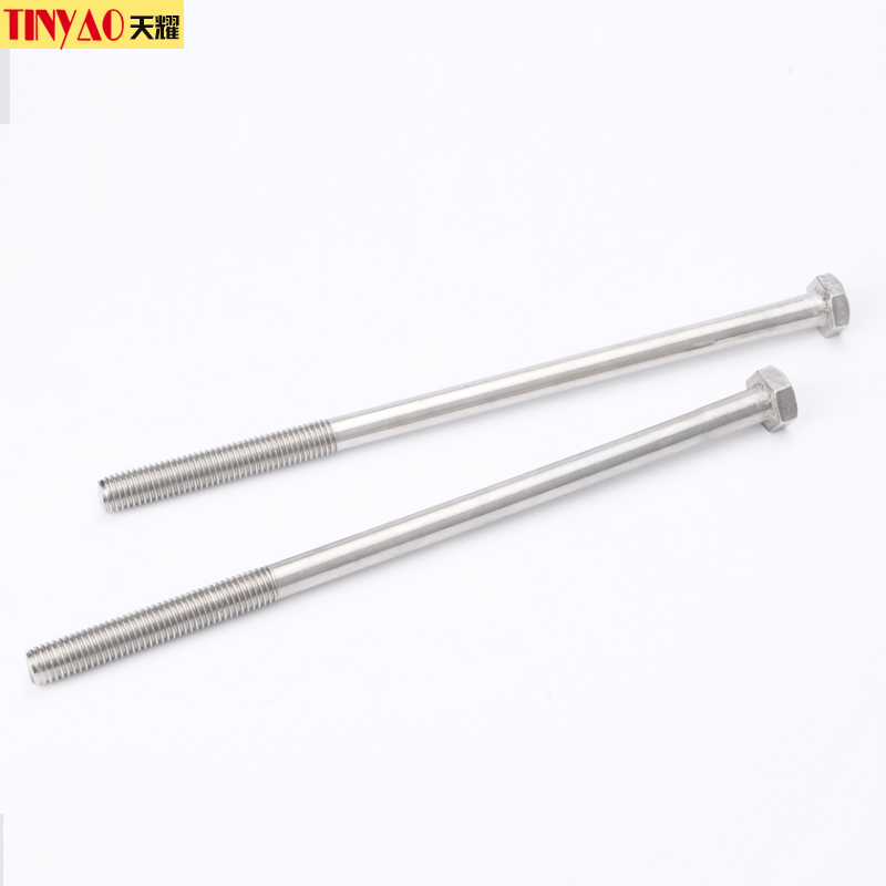 304 stainless steel outer six corners wall screw long screw lengthened bolt screw M10M12*250/300mm