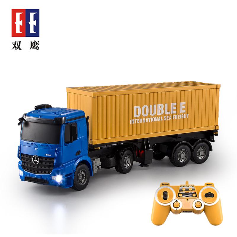 Double Eagle die drahtlose fernbedienung Benz container - Transport - lkw - Modell eines lkw - fahrzeug - Jungen - spielzeug