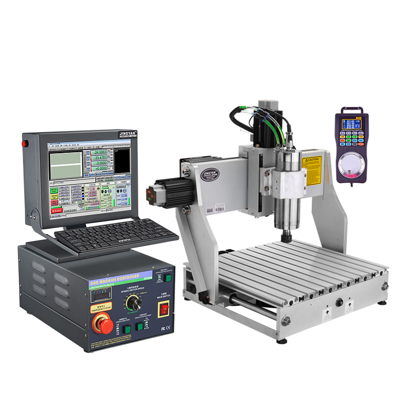 Crystal Research 3040 CNC engraving machine small cnc electric high-precision metal jade automatic DIY computer woodworking