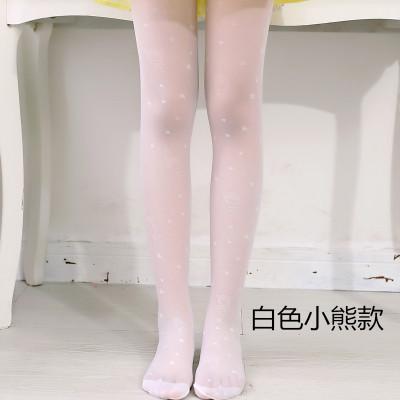 白色(防勾丝小熊款)