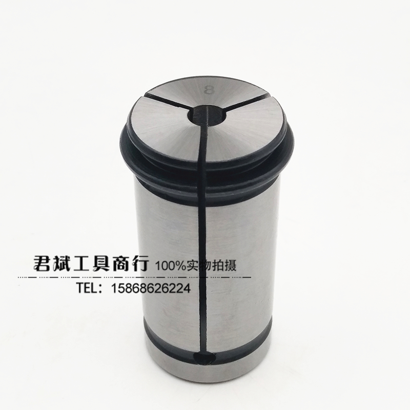 SC32 collet type C strong straight elastic collet C32 shank collet 3-25 jacket straight cylinder type chuck