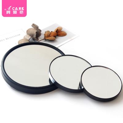 放大化妆镜子便携高清双面美容大镜15倍10倍5毛孔拔黑头桌面吸盘