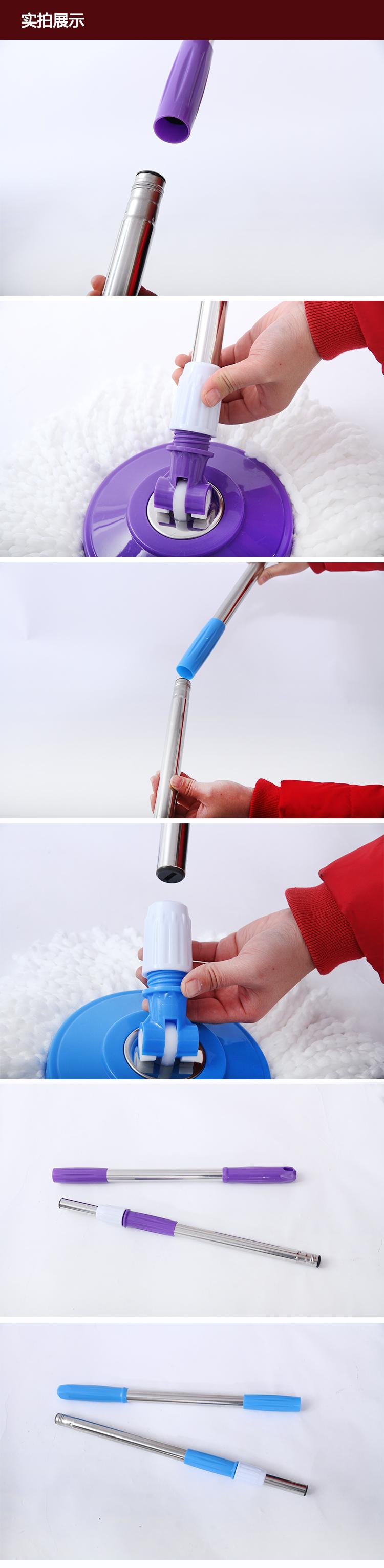 miaojie geneetiliselt muundatud puuvilla mop käsitsi ära pea pööramine roostevabast terasest osad asendatakse pukseerimiseks harja