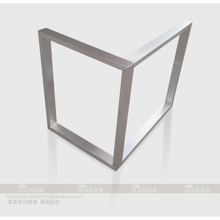 304 gebürstetem Edelstahl, Ecke l - tischbein Assembly schreibtisch stehen eigene 7 - form bildgröße ändern kann