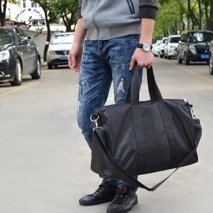 男士旅行包行李袋手提大容量行李包女韩版旅行袋健身包装衣服的包