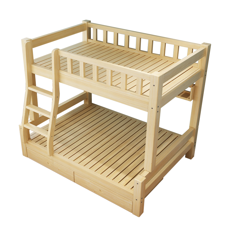 Double bed bed bed bed bed children parent adult sub body pine bunk bed bed bed