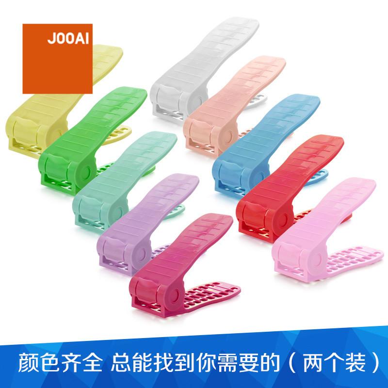 المادة يمكن التبديل البريد jooai الإبداعية نوع تخزين الرف رف واحد الأحذية ستيريو مزدوجة 10 عقدة واحدة