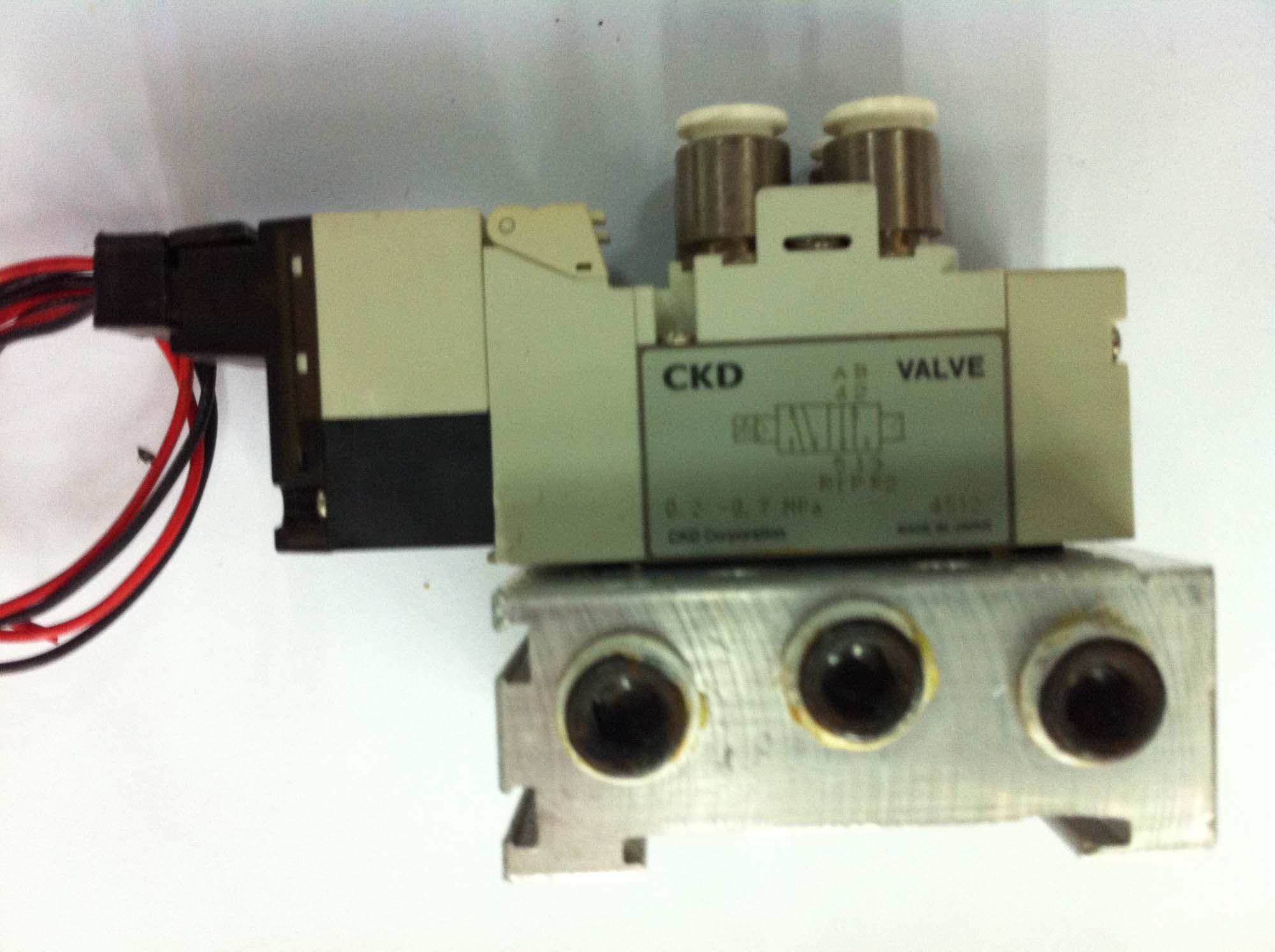 The performance of Japanese CKD4GA119-E23F disassemble parts complete electric control valve