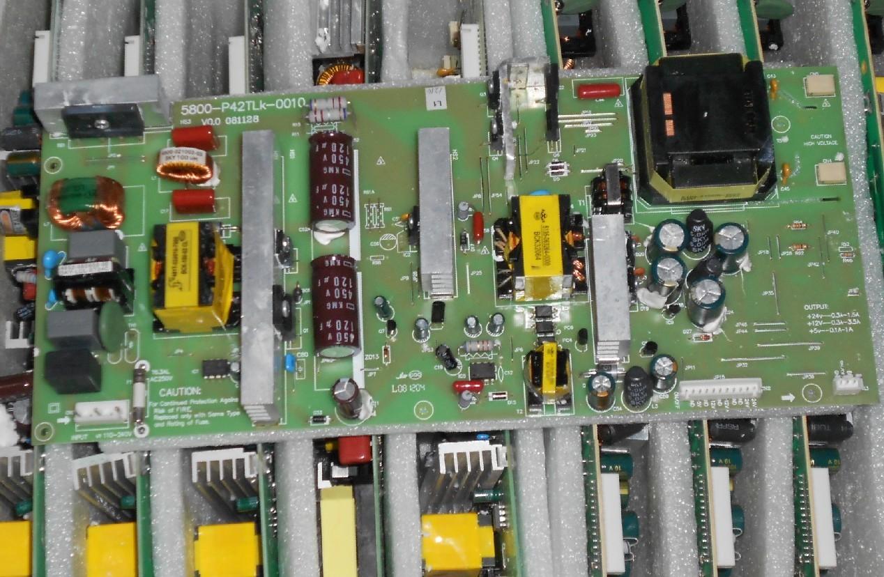 5800-P42TLK-0010 SKYWORTH 42 LCD TV power supply high voltage (backlight) integrated board