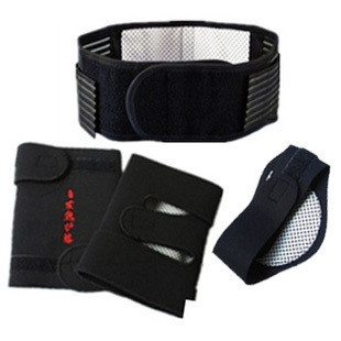 Exercise therapy from men and women kneepad warm fever belt kneepad neck three piece set by self heating equipment