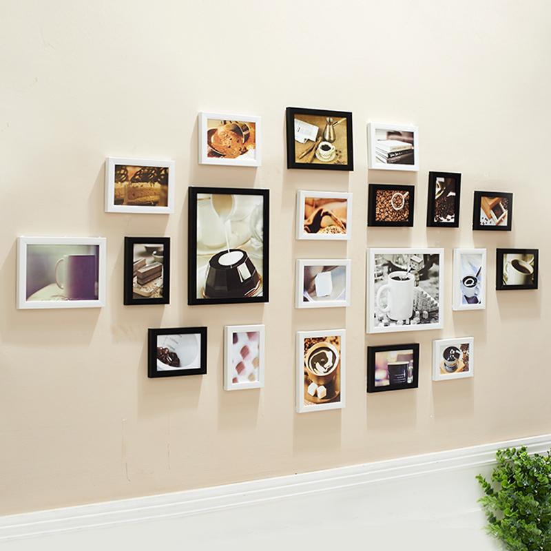 mauer mauer kreative kombination von 20 bildern schlafzimmer, Wohnzimmer
