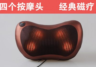 Genuine home cervical massage neck waist back vehicle body electric multifunctional massage pillow cushion