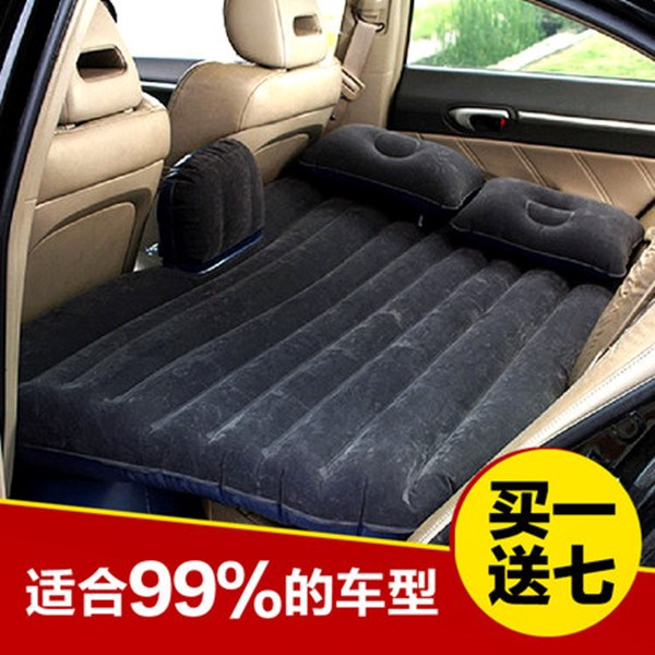 The car SUV car travel car bed bed inflatable mattress flannelette child car rear car bed mattress