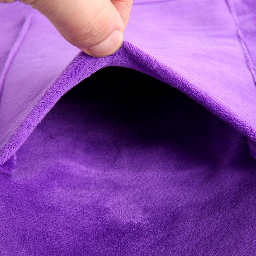 諾泰海塩温湿布バッグ電気加熱護ベルト灸粗製塩ホットパック紫色