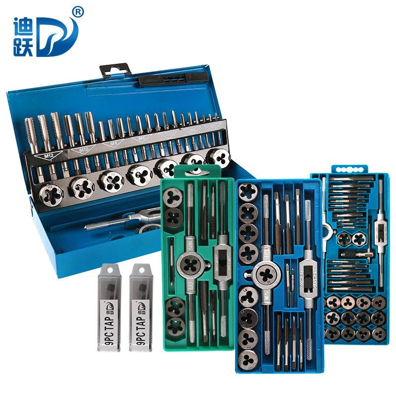 Combination screw set manual tapping wrench tapping drill tool hand tap die set