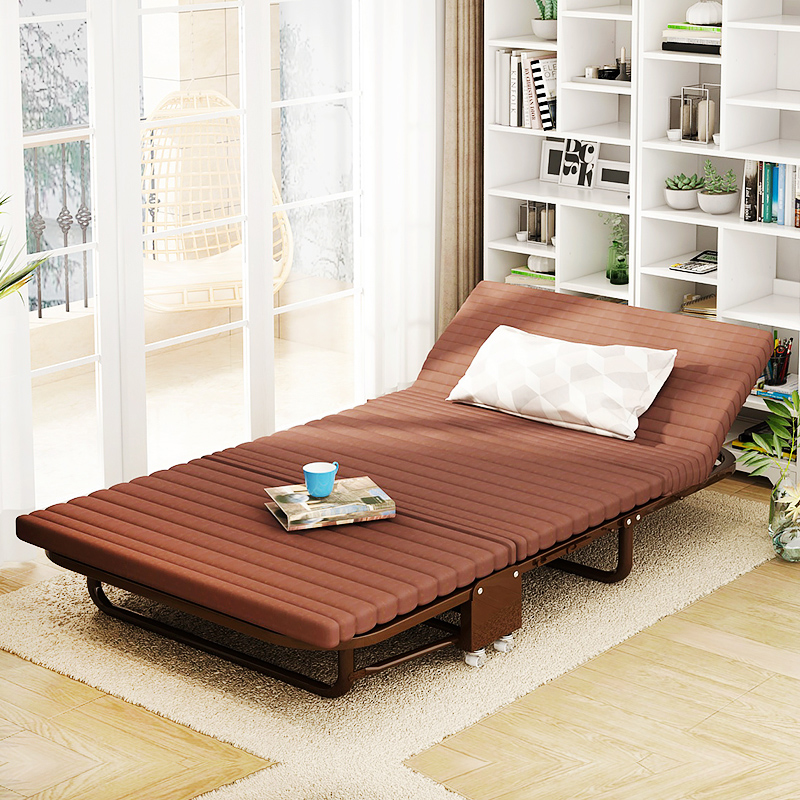 One hundred million Tatsu folding bed single bed double bed at home and in the office in a nap bed bed