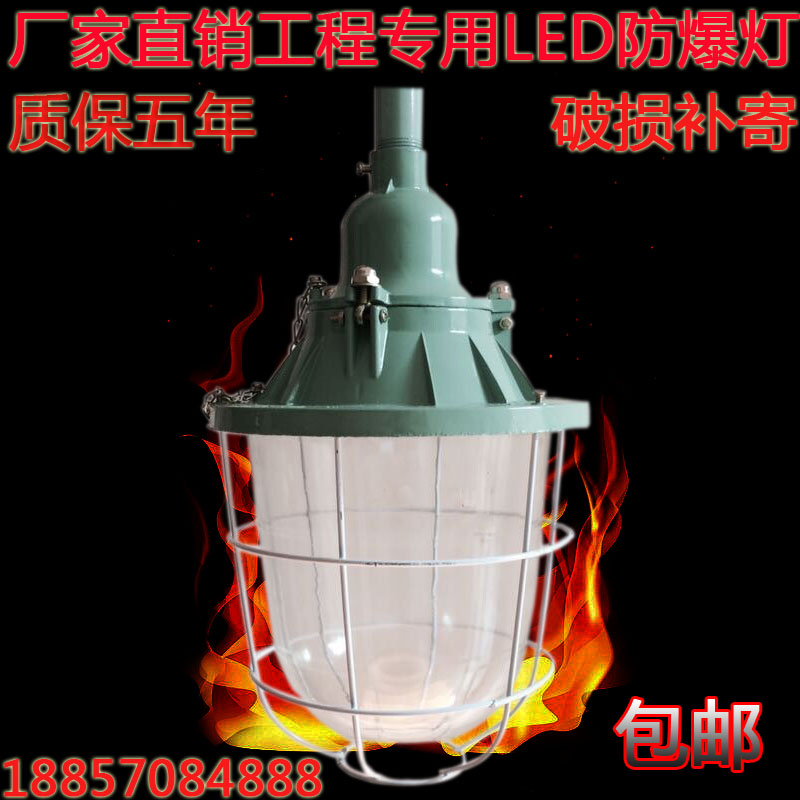 New dawn explosion proof lamp BCD flameproof lampshade LED workshop workshop gas station warehouse factory lighting lamps and lanterns