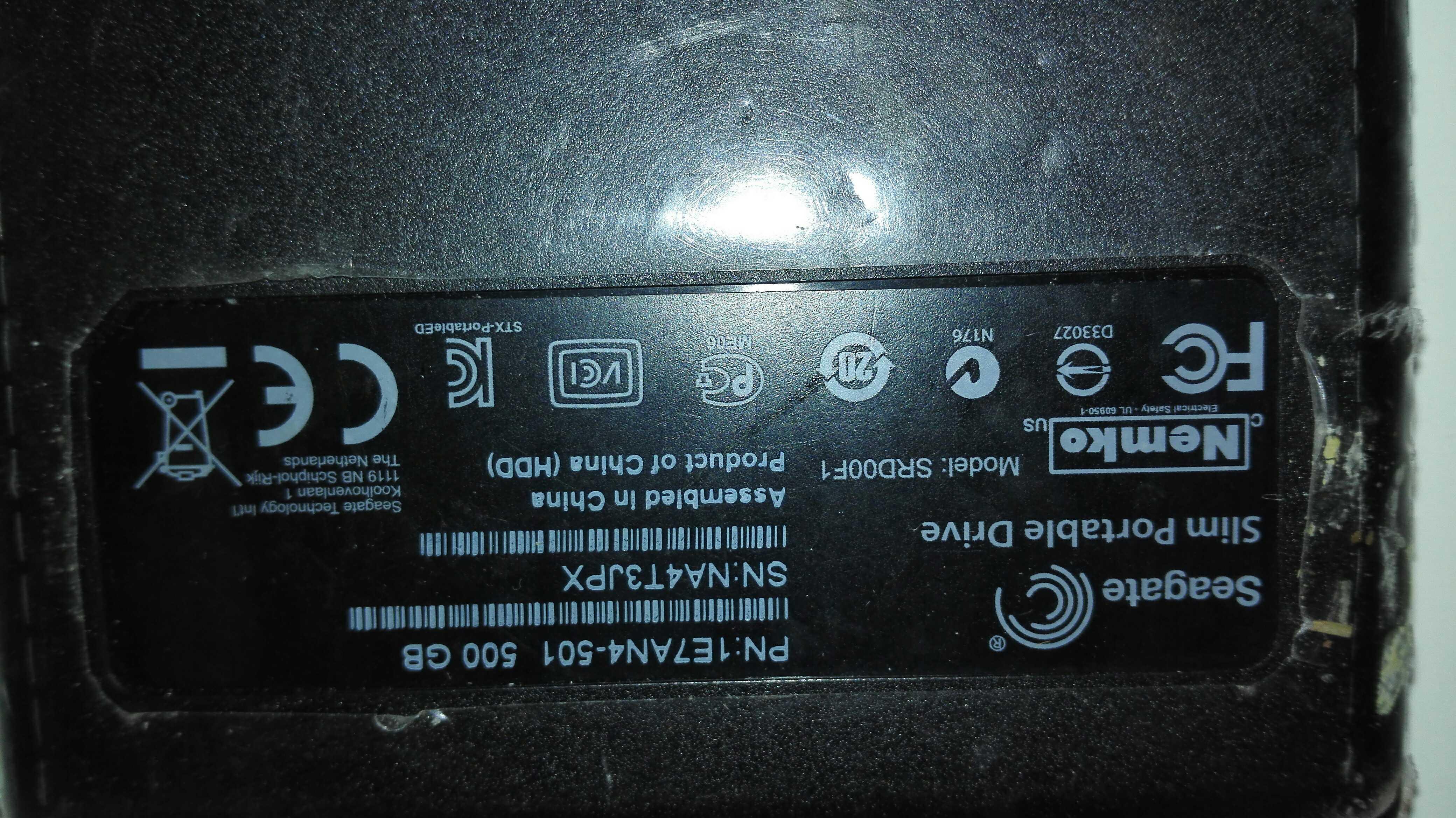 WD Seagate de nouveaux éléments de données 500G1TB2TB disque dur mobile d'éléments nouveaux e 2,5