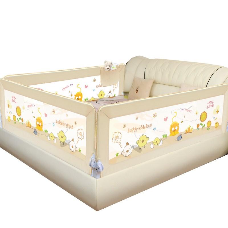 新品良い子欄ベッド赤ちゃん赤ちゃんフェンスベッド防護欄子供用ベッド欄ベッド1 . 5 / 1.8Mブロック