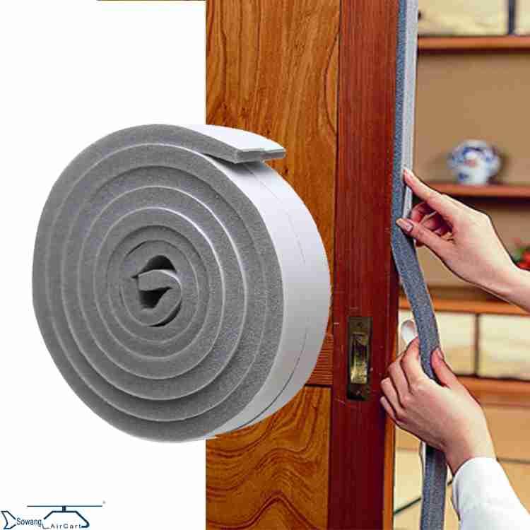 Door bottom sealing brush, door frame door, dustproof wind proof strip, wooden door, burglarproof door, thermal insulation gap, sealing strip