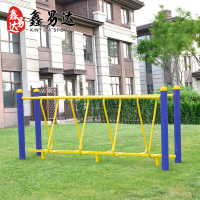 Outdoor fitness equipment outdoor garden square community elderly sports fitness trail tiesuoqiao Hula Bridge