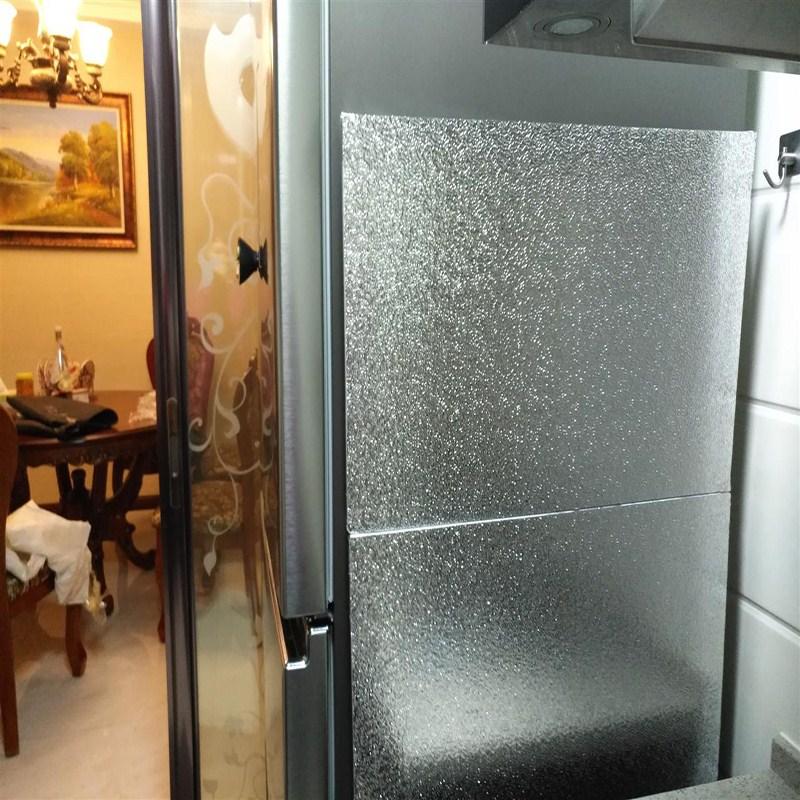 Küche, kühlschrank der hitzeschild durch wärmedämmung An Bord gegen die ölverschmutzung der hitzeschild Küche Herd kühlschrank durch wärmedämmung An Bord