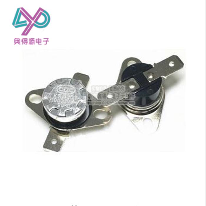 KSD301 / 302 / حامي وحدة تحكم في درجة الحرارة 35 درجة الحرارة التبديل عادة مغلقة 250V 10A /