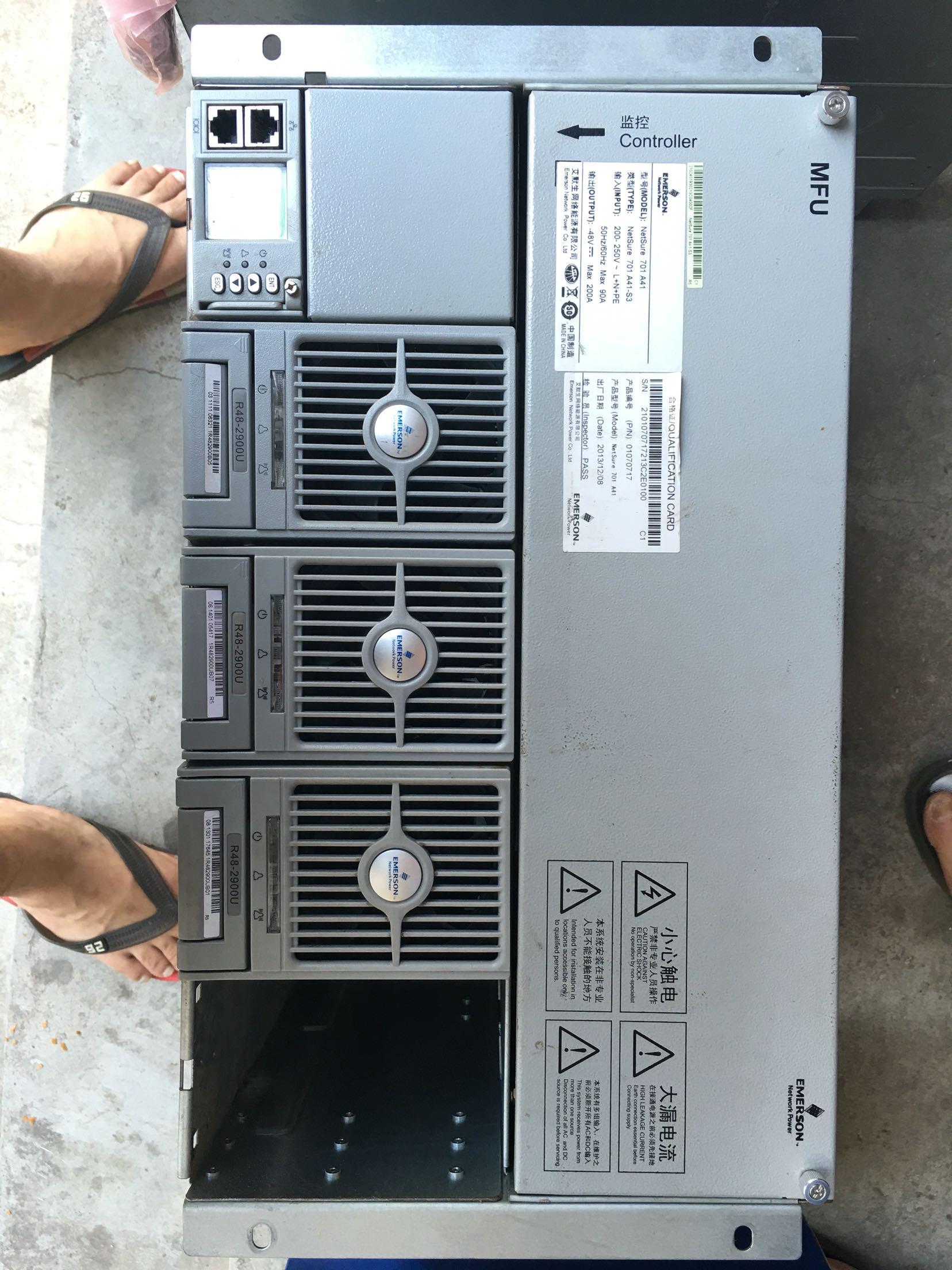 Aus R48-2900U Emerson Power Module, verpackt und spot - niedrigen Preis verkauft.