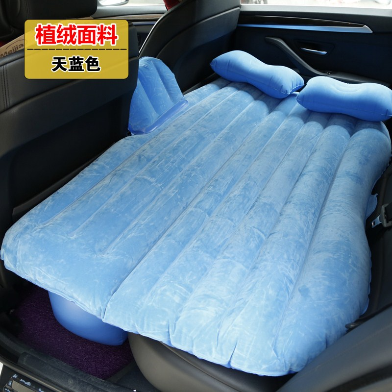 The car carrying inflatable mattress bed mattress adult car travel car car rear driving SUV children
