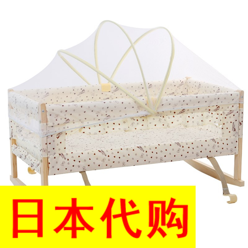Η Ιαπωνία. χωρίς μπογιά ξύλο, Η κούνια του μωρού της ββ ανεξάρτητο πλαίσιο πρωτοετείς κοιμάται καλάθι υπνάκο κρέμεται ζώνη i - μωρό μου,