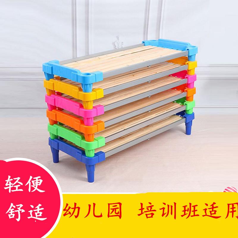 Home small and practical balcony, convenient folding chair, plastic nap bed, children folding kindergarten, kindergarten