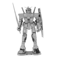 Wrapped in pure metal all stainless steel, GUNDAM dare to reach up to nanometer assembly model RX782 blister box