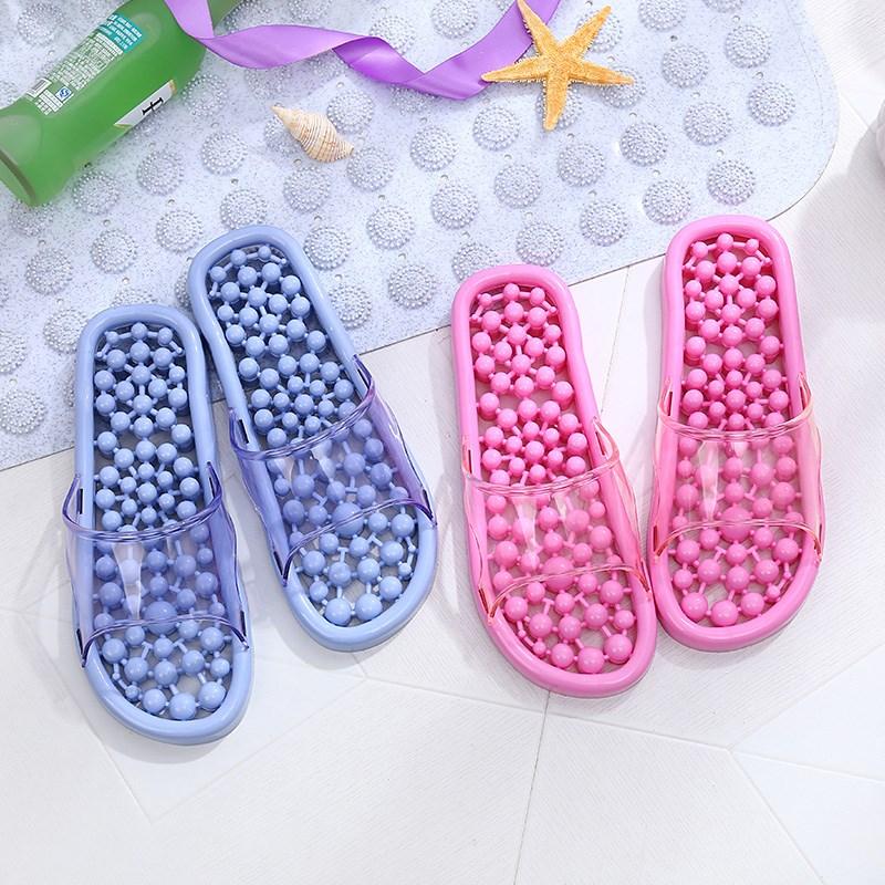 漏水居家男按摩拖鞋穴位足疗鞋买一送一拖鞋女夏室内防滑浴室洗澡