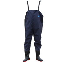 Thickening trousers, waterproof trousers, fishing pants, wading trousers, waterproof clothes, digging lotus clothes, conjoined leather fork trousers