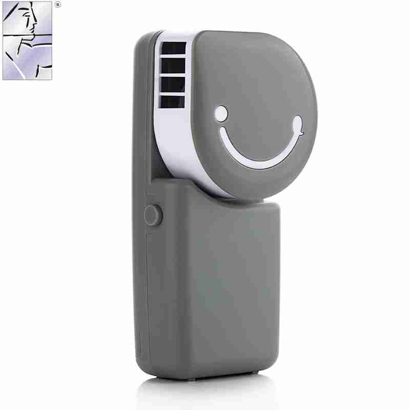 Mini USB rechargeable fan, small hand portable portable cooling fan with palm air conditioner